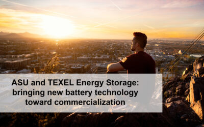 ASU LEAPS helps TEXEL Energy Storage bring new battery tech toward US commercialization